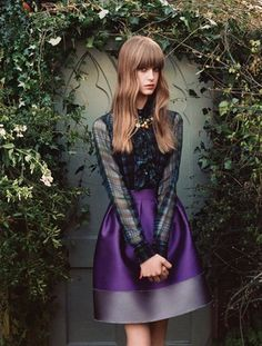Blugirl Fall/Winter 2013-2014 Campaign - Have a look at Blugirl's romantic fall/winter 2013 campaign.
