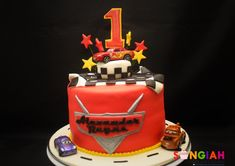 Exclusive Image of Disney Cars Birthday Cake . Disney Cars Cake, Disney Cars Birthday, Chocolate Silk Pie, Soft Chocolate Chip Cookies, 4th Birthday Cakes, Birthday Cake Pictures, Chocolate Gummy Bears, Car Themed Parties, Peppermint Cookies