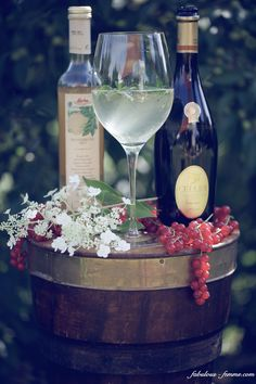 prosecco summer drink | Hugo