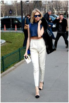 Spring-2014-trends Cropped Tops