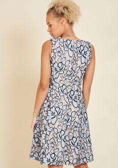 Fate blue lace dress