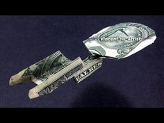 Star Trek Enterprise Spaceship - Money Origami - Dollar Bill Art