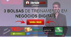 Empreendedor Nômade Digital Lança 3 Bolsas de Treinamento!