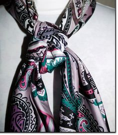 Buckaroo knot  wild rag. i really need this but i knew if i got it jimmy would just steal it!! lol