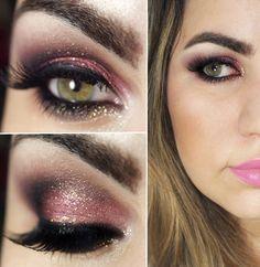 Gorgeous Pink and Wine Smokey Makeup Tutorials