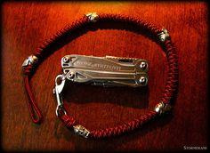 a two-strand wall knot sinnet lanyard