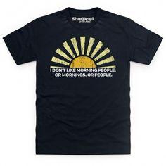 Morning People T Shirt