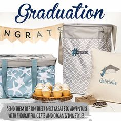 Great gifts for the Graduate- From the dorm to their adult home they will stay organized and stylish! www.mythirtyone.com/jdnelson