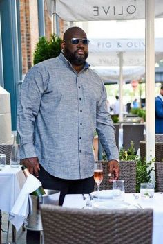 His style: meet mvp collections for the big and tall man. big and tall stylebig and tall outfitsmens Tall Men Fashion, Mens Fashion Suits, Chubby Men Fashion, Gq Fashion, Fashion Black, Fashion Boots, Fashion Clothes, Fashion Rings, Winter Fashion