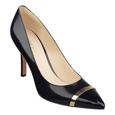 """We'll let a satisfied customer (5-star rating!) speak for our Matea pointy toe pumps. """"I just bought these shoes in black and love them! I want to add white and grey to my collection. These are super comfortable for pumps too."""" Need we say more? Padded footbed for all-day comfort. Leather upper. Man-made lining and sole. Imported. 3 1/2"""" high heels. Pointy toe pumps."""