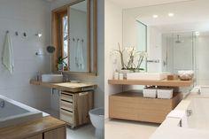Mobile bagno con lastre di legno riciclato | Riciclo Creativo ...