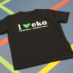 I love Eko -painatus EP01 t-paita