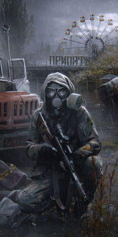 Zombie Rpg, Arte Zombie, Apocalypse World, Apocalypse Art, Art Cyberpunk, Apocalypse Aesthetic, Gas Mask Art, Post Apocalyptic Art, Military Drawings