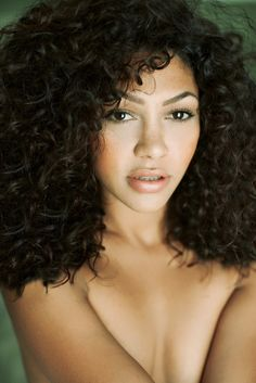 how to get bigger curls with naturally curly hair - Google Search