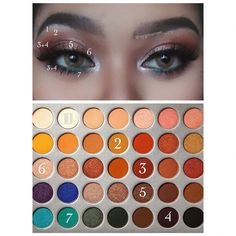 makeup jaclyn hill palette Make-up Jaclyn Makeup Eye Looks, Eye Makeup Tips, Makeup Goals, Makeup Inspo, Eyeshadow Makeup, Makeup Inspiration, Eyeshadows, Makeup Ideas, Jaclyn Hill Palette