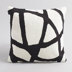 Add a touch of French fashion to any home with chic cushion covers from La Redoute, in a range of fabulous designs. Owl Pillow, Heart Pillow, Pillow Fabric, Pillow Talk, Black And White Cushions, Black And White Quilts, Diy Cushion, Cushion Covers, Pillow Covers