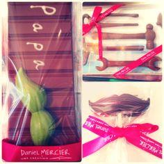 Special Father's Day Chocolates by #DanielMercier – à Lyric Hotel Paris. #chocolates #lyrichotel #paris #macaroons #hotel
