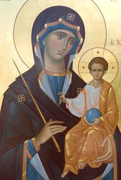 Madonna, Byzantine Icons, Byzantine Art, Religious Icons, Religious Art, Greek Icons, Orthodox Christianity, Orthodox Icons, Our Lady