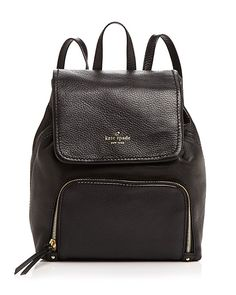 ff4f98338a0f large image view Kate Spade Leather Backpack