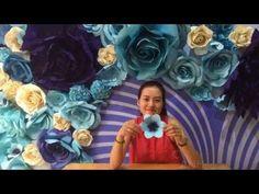 Với cách làm hoa như tnay các bạn có thể áp dụng làm những bông hoa size 40cm-2-3met tùy thích Đăng ký kênh của Suchin để nhận những cách làm hoa giấy mới nh...