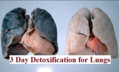 How to clean the Lungs in just 3days,