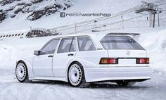 Alfa Romeo Giulia DTM, BMW & Co .: Hot racing cars from the computer - Mercedes 190 Evo Kombi – Photoshop Best Picture For car cartoon For Your Taste You are looking - Mercedes Benz 190e, Mercedes Auto, Mercedes 190 Evo, Bmw I8, Auto Motor Sport, Sport Cars, Nissan 370z, Station Wagon, Pagani Huayra
