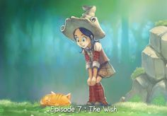 Episode 7 : The wish #peppercarrot