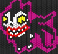 Vampire Teddy Nightmare Before Christmas Bead Pattern