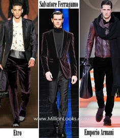 Elsewhere on the web: The #MovieStar look as seen on the #WinterTrends2013 runways of Etro, Salvatore and Emporio Armani. #AmericanSwiss