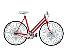 Ride Like Us - Single Speed - Woman - Brand: Fit4Free