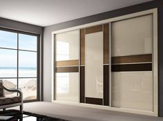 Modern Bedroom Wardrobe designs with images Wardrobe Laminate Design, Wardrobe Design Bedroom, Bedroom Cupboard Designs, Luxury Bedroom Design, Bedroom Bed Design, Bedroom Furniture Design, Modern Bedroom, Modern Wardrobe, Bedroom Designs