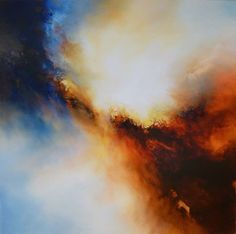 Abstract Paintings by Artist Simon Kenny