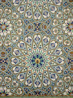 Islamic detail, Hassan II Mosque by AJ123T, via Flickr