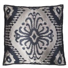 Pashan Graphite Throw Pillow