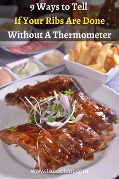 Smoked Ribs, Barbecue Sauce, Beef, Meals, Cooking, Food, Meat, Kitchen, Meal