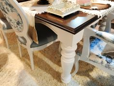 mesa de jantar em madeira maciça e provençal - Pesquisa Google