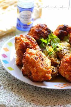 tajine de beignet de chou-fleur sauce blanche