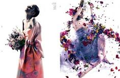 'Holy Flowers' Zuzanna Bijoch by Pierre Debusshcere for Dazed & Confused October 2012 [Editorial]1