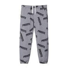 Spodnie Dresowe TAG GREY Klasyczne, damskie spodnie dresowe. W pasie ściągane gumą i sznurkiem. Całe spodnie zadrukowane w pattern z logotypów.