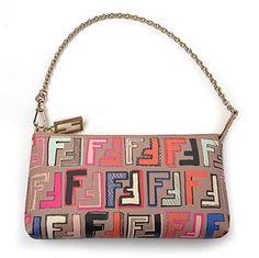 Fendi Spalmati Baguette |  Discount Designer Accessories |  Queen Bee of Beverly Hills