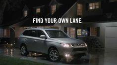 """2014 Mitsubishi Outlander Safety Commercial -- """"Why Trust Anything Else"""""""