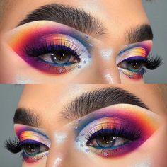 Makeup Is Life, Beauty Makeup, Eye Makeup, Hair Makeup, Clown Makeup, Makeup Stuff, Beauty Box, Makeup Products, Halloween Makeup