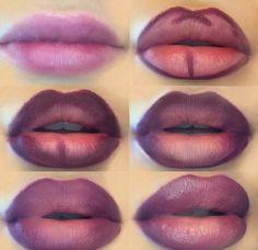 Lips full of make-up: this is how lip contouring and Lippen voller schminken: So gelingt es mit Lip-Contouring und Ombré-Lips! Lips full of makeup Lip Contouring Instructions up - Lip Contouring, Contour Makeup, Contouring And Highlighting, Eye Makeup Tips, Mac Makeup, Beauty Makeup, Makeup Hacks, Concealer, Makeup Brushes