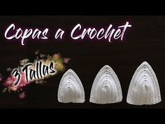 Como Tejer Copas a Crochet Todas las Tallas Fácil y Rápido Lingerie Crochet, Crochet Bra, Crochet Bikini Top, Crochet Cardigan, Crochet Edging Patterns, Crochet Designs, Crochet Stitches, Free Cliparts, Tops A Crochet