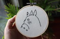 Studio Ghibli Embroidery – a use of time…