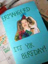 I really want my best friend to make me this for my Berfday