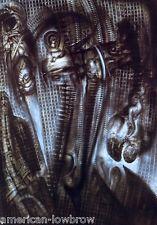 HR Giger Art Poster Print N.Y. City XV Crossing Biomechanical Baphomet Alien