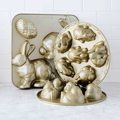 Nordic Ware Mini Easter Bunny Cakelet Pan | Williams-Sonoma