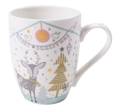 Golden Tree, Christmas Mugs, Tree Designs, Bone China, Christmas Mug Rugs, Tree Templates