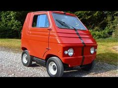 Zagato Zele, 1974 (sold in the US as the Elcar). Of course Zagato does have electric microcar history having produced about 500 Zele EVs between 1974 and Carver One, Small Electric Cars, Microcar, Sweet Cars, Cute Cars, Modified Cars, Small Cars, Amazing Cars, Classic Cars